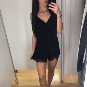 NWT REVOLVE Lovers + Friends Lace Romper